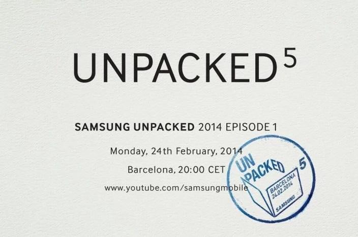 samsung unpacked - Samsung confirma evento com provável anúncio do Galaxy S5