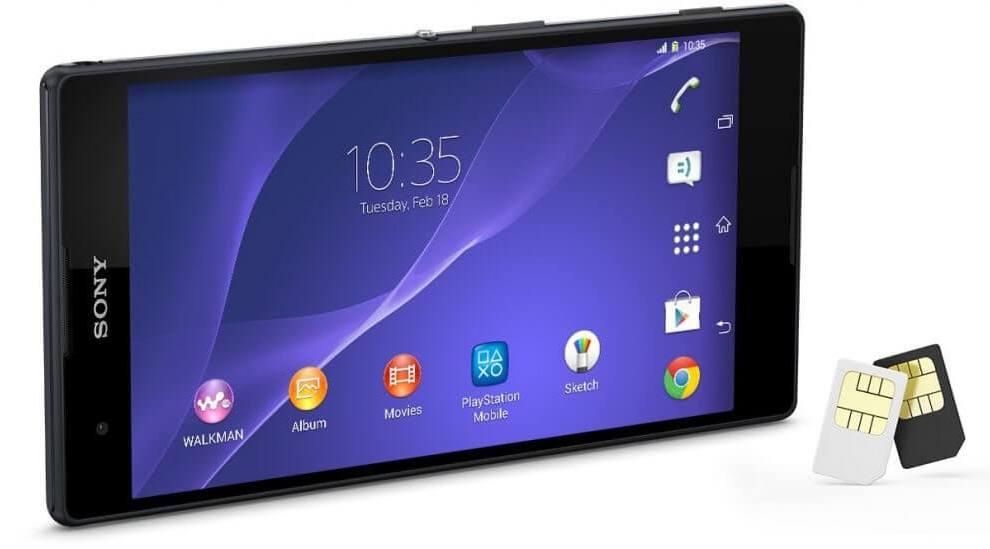 Xperia T2 Ultra Dual aparece no site da Sony Brasil 6