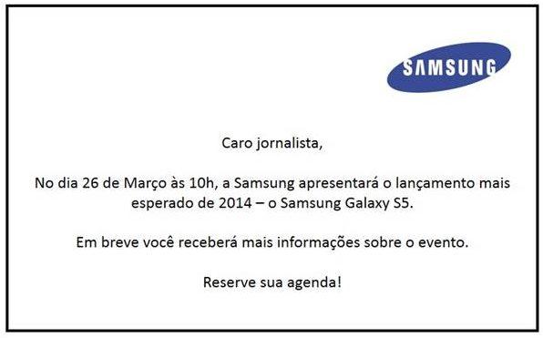 Captura de Tela 2014 03 13 às 18.28.56 - Galaxy S5 será apresentado no Brasil dia 26 de março