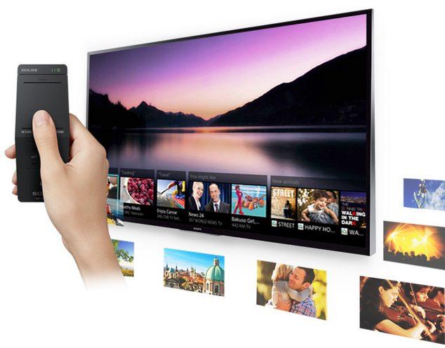 Novo controle remoto com recurso One-Flick Entertainment da Sony / diculgação