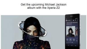 Sony Xperia Z2 virá com novo álbum de Michael Jackson 23