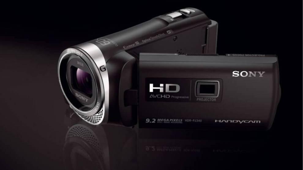 Sony lança nova filmadora Full HD com projetor integrado e WiFi 7