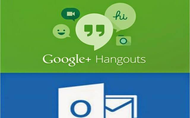 Google Hangouts Extension for Microsoft Outlook - Google lança plugin que permite integração entre Outlook e Hangouts