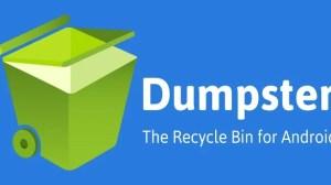 Dumpster: restaure arquivos apagados no Android 8
