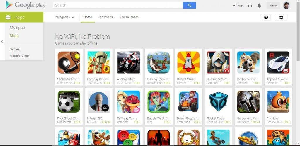 googleplayoffline - Google Play agora tem uma seção de jogos offline