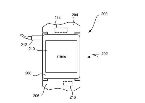 iTime iWatch 2 - Patente da Apple revela relógio iTime