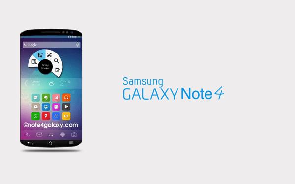 Samsung marca data para apresentar o Galaxy Note 4: 3 de setembro 7