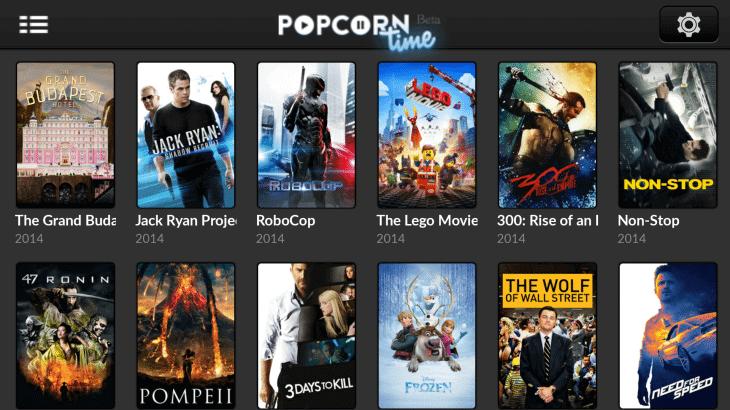 Popcorn time 730x410 - Popcorn Time, o Netflix dos piratas, continua avançando