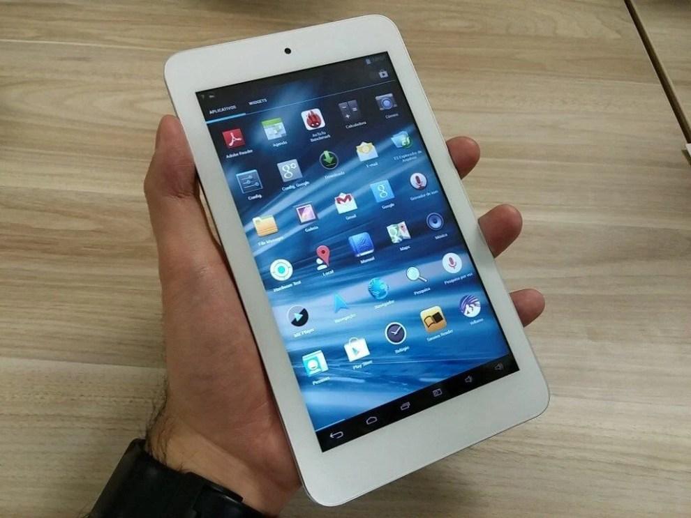 tablet tectoy veloce smt 04 - Tectoy lança tablet com preço acessível