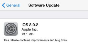 Apple libera nova atualização iOS 8.0.2 21