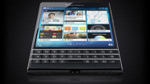 blackberry passport hands on showmetech 01 - Hands-on: Blackberry Passport, o topo de linha com tela quadrada e teclado físico QWERTY