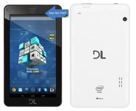 DL renova parceria com a Intel e lança o tablet X-Pro Dual 4