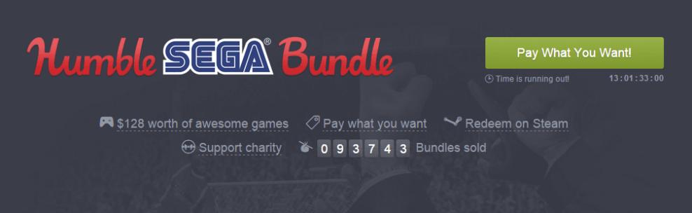humble sega bundle - Humble Sega Bundle: pague o quanto quiser por games de PC da produtora e ajude instituições de caridade