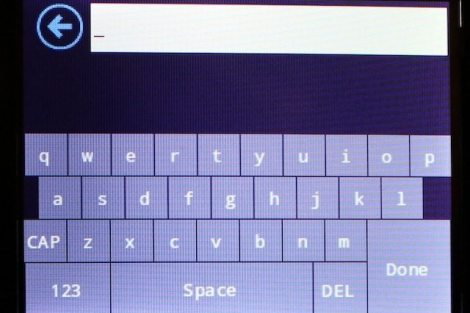 keyboard - Testamos o roateador touchscreen Securifi Almond