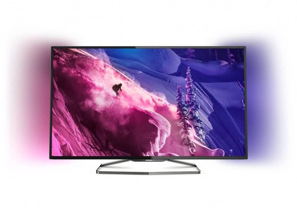 serie 6900 ultra hd philips 4k televisor smart tv - Philips lança TVs 4K com melhor relação custo-benefício do país
