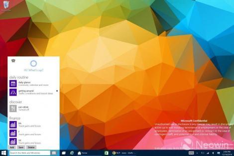 cortana - Vazamento revela Cortana e novo aplicativo Xbox para Windows 10