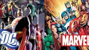Marvel vs DC em uma batalha épica 14