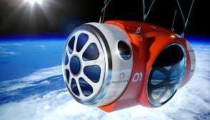 Viagem espacial de balao