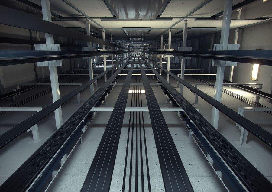 kone elevator - Supercorda foi criada para que superprédios tenham superelevadores