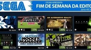 Promoções de Jogos SEGA no STEAM 13