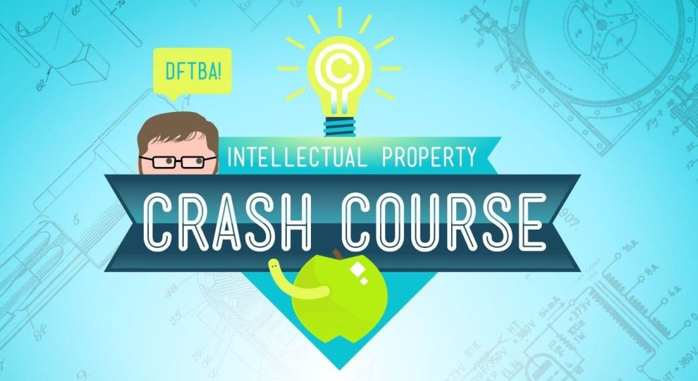 CrashCourse Intelectual propriety propriedade intelectual