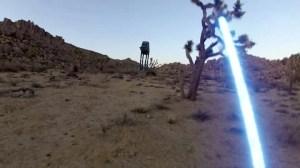 Video incrível feito com GoPro mostra a visão em primeira pessoa de um Jedi 10