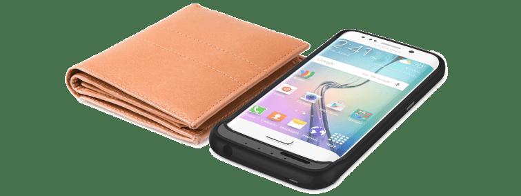 offgrid case - Case para Galaxy S6 dobra capacidade da bateria e adiciona entrada microSD