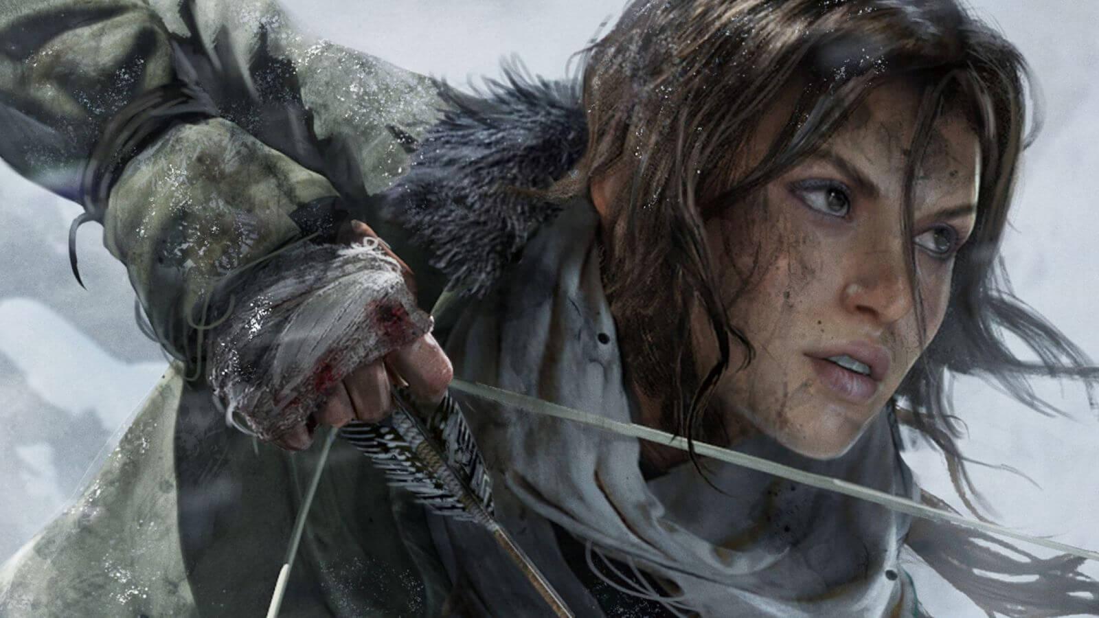 riseo of tomb raider para ps4 - Square Enix anuncia Rise of Tomb Raider para PlayStation 4, mas só em 2016