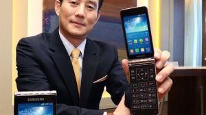 smt galaxyfolder capa - Samsung apresenta segunda geração do Galaxy Folder, o celular flip