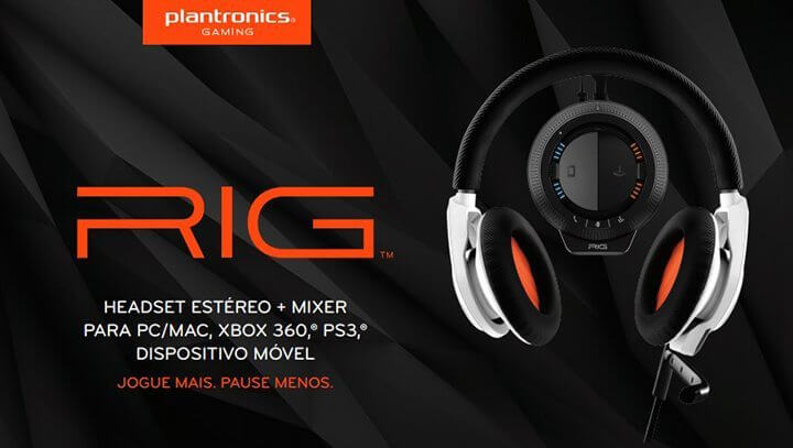 Review: headset gamer RIG da Plantronics 4