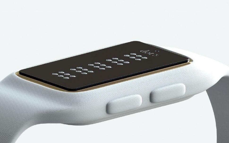 """smt dot capa - Conheça o Dot, o smartwatch que """"fala"""" em braille"""