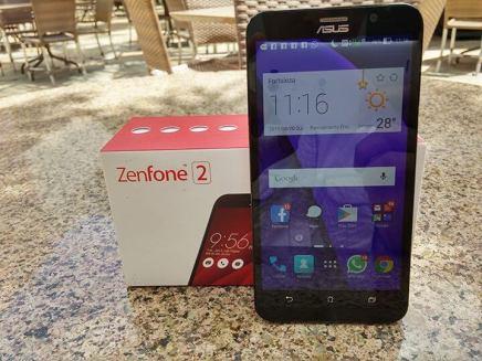Zenfone 2 caixa