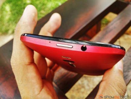 Zenfone 2 detalhe botao