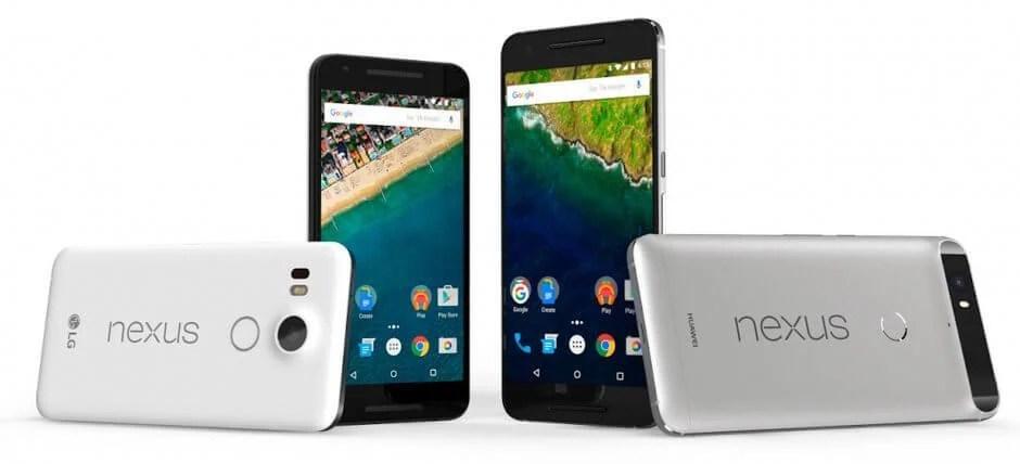 Google anuncia Nexus 5X e Nexus 6P com até 128 GB de armazenamento 5