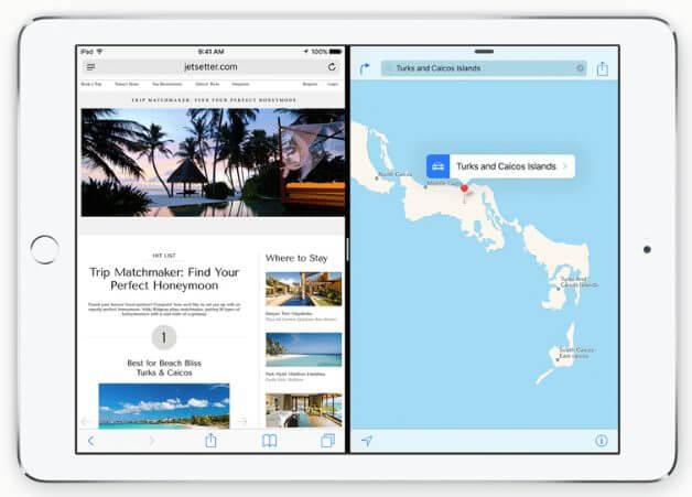 split - Apple lança iOS 9 para iPhones, iPads e iPod Touch
