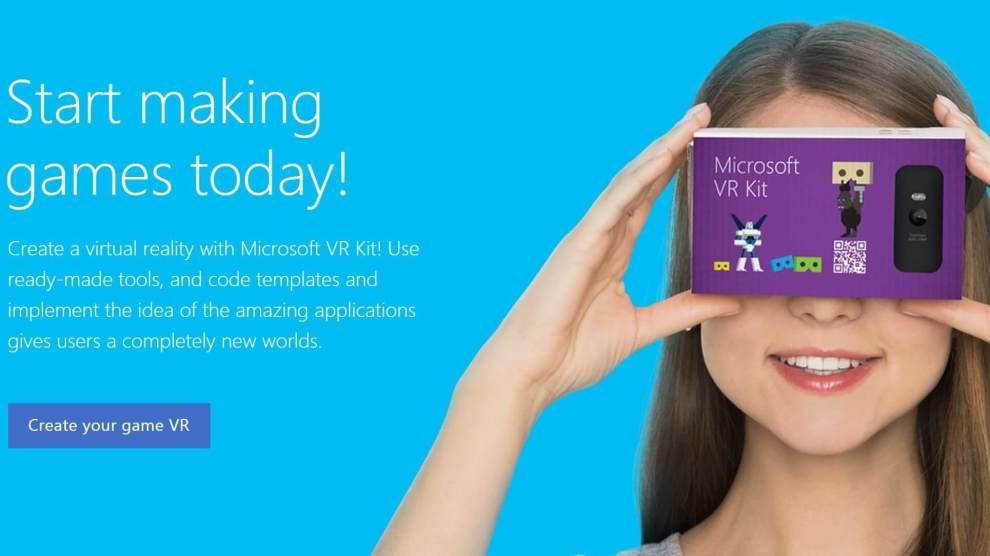 Microsoft cria óculos de realidade virtual para competir com Google Cardboard 8