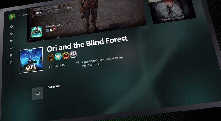 xbox one nova interface - Veja o HoloLens, Xbox com Windows 10, MS Band e outras incríveis novidades da Microsoft