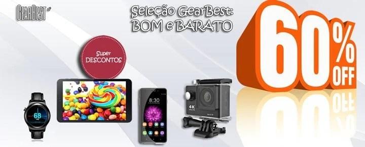 """selecao gear best - """"Seleção GearBest: bom e barato"""" smartphones e tablets até 60% OFF"""