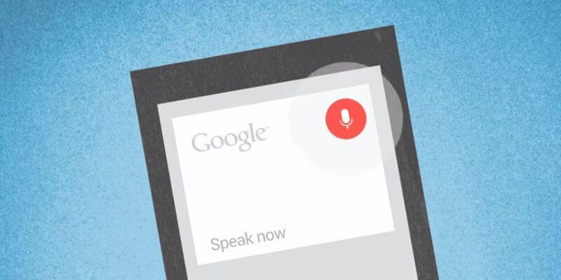google now comandos