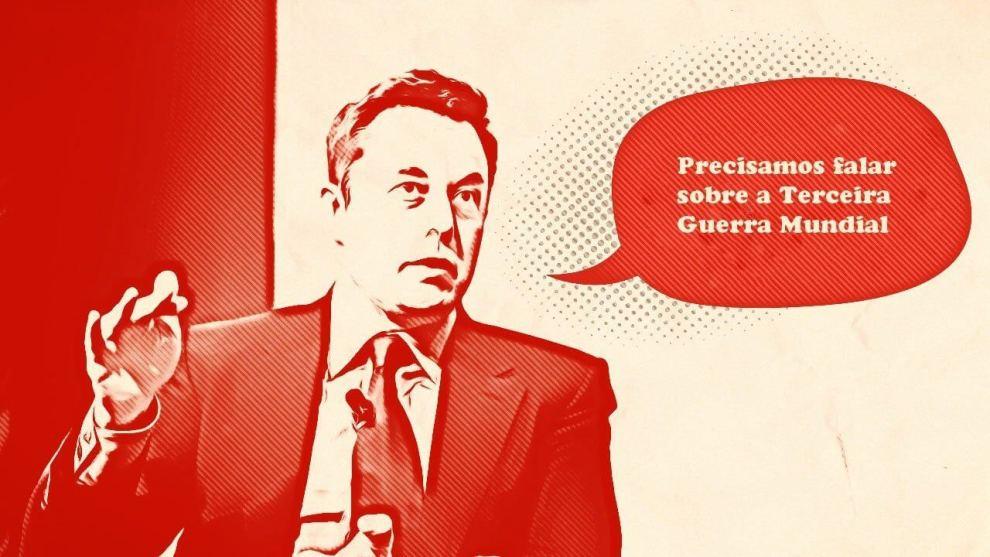 smt musk capa - Elon Musk se preocupa com iminência de uma 3ª Guerra Mundial