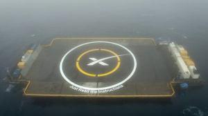SpaceX falha mais uma vez em pousar um foguete no mar 5