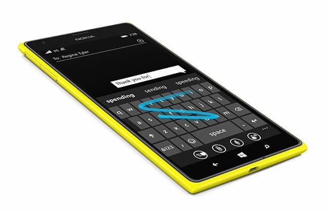 lumia word flow keyboard - Microsoft quer levar teclado virtual do Windows Phone para o iPhone