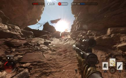 starwarsbattlefront cena gameplay missao 2 - Game Review: Star Wars Battlefront