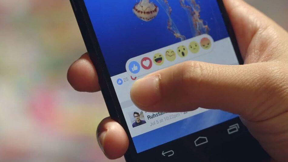 """fb reactions - Facebook - Conheça os novos botões """"curtir"""""""