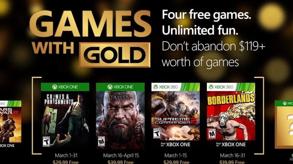 Games with Gold: jogos grátis na live para março de 2016 4