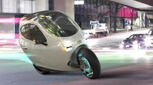 Meio moto, meio carro, o C-1 da Lit Motors pode revolucionar a forma de se locomover pela cidade 7