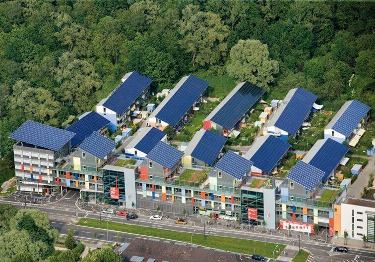 Tetos solares: bairro alemão produz quatro vezes mais energia do que precisa 4