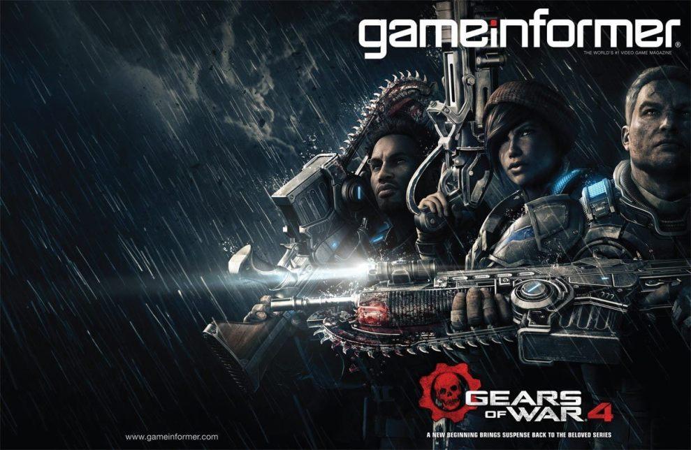 gears of wars 4 cover2 - Gears of War 4:  Protagonistas e detalhes revelados