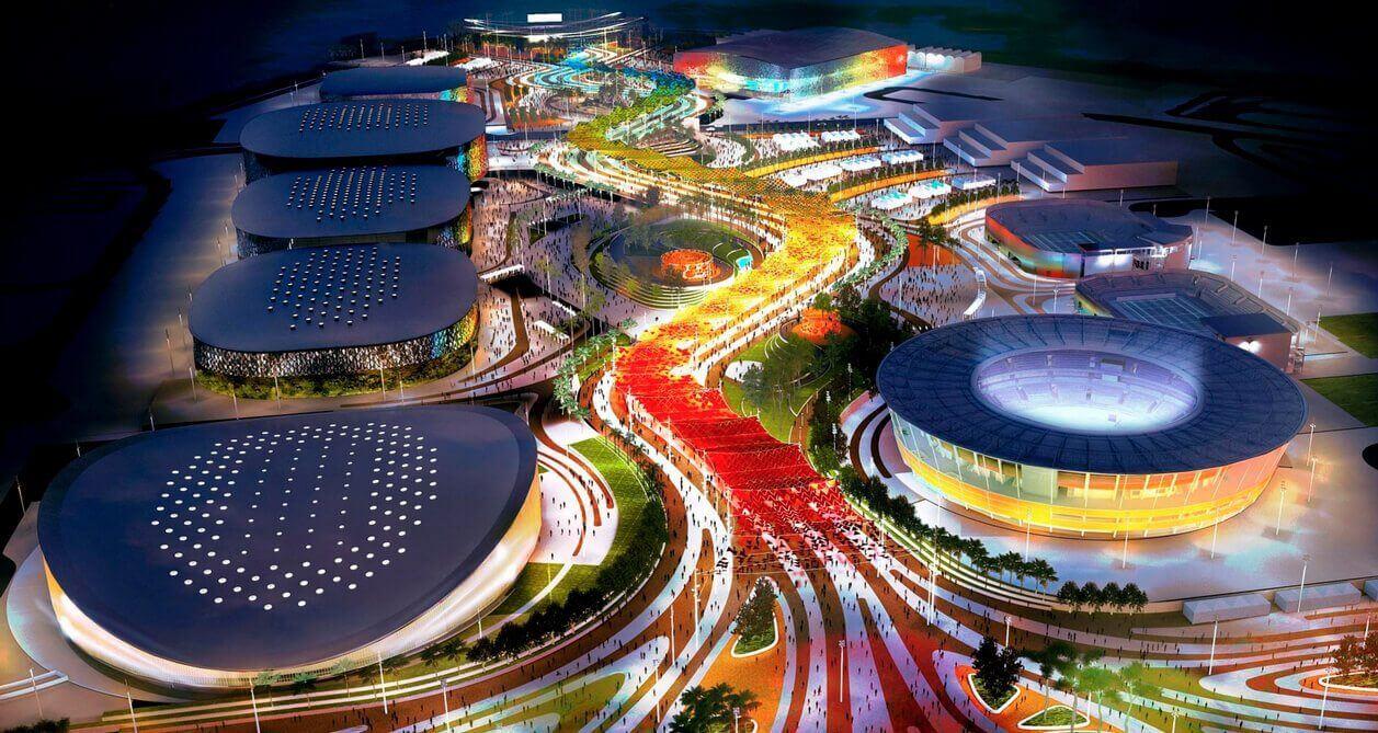 rio2016 imagemconceitualdoparqueolimpico - Olimpíadas Rio 2016 terão transmissões em 8K e Realidade Virtual
