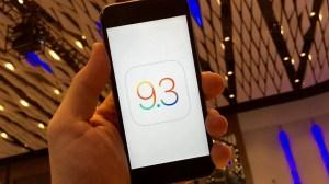 Apple lança quinta versão beta do iOS 9.3 6